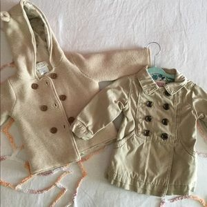 12-18 month khaki coat